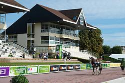 James Dwyer, (IRL), Orlando - Horse Inspection Para Dressage - Alltech FEI World Equestrian Games™ 2014 - Normandy, France.<br /> © Hippo Foto Team - Jon Stroud<br /> 25/06/14