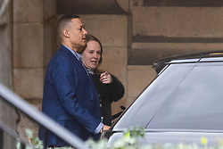 © Licensed to London News Pictures. 13/01/2020. London, UK. MP for Norwich South Clive Lewis walks in Parliament with a colleague . Photo credit: George Cracknell Wright/LNP