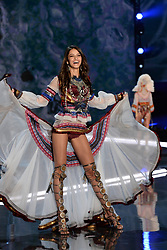 Bruna Lirio on the catwalk for the Victoria's Secret Fashion Show at the Mercedes-Benz Arena in Shanghai, China
