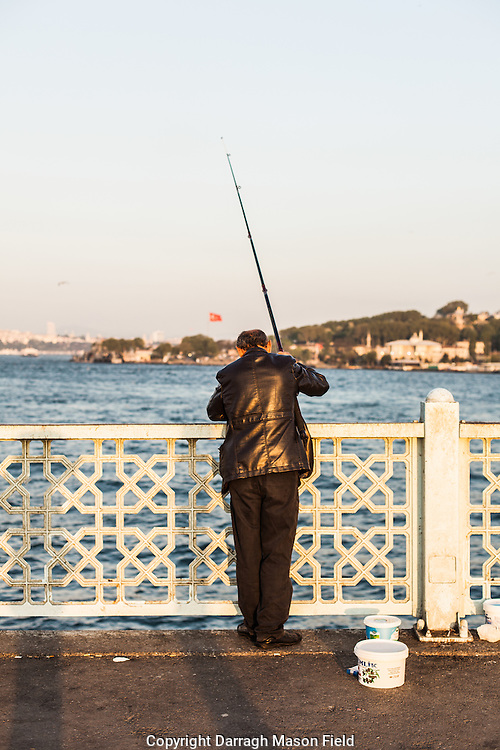 Fishing the Bosphorus