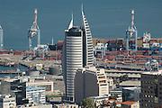 Israel Haifa, Bay and port of Haifa, Israels biggest port November 2005