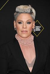 Pink at the 2019 E! People's Choice Awards held at the Barker Hangar in Santa Monica, USA on November 10, 2019.