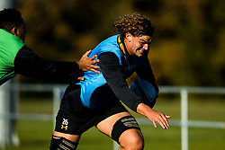 Theo Vukasinovic of Wasps during training ahead of the European Challenge Cup fixture against SU Agen - Mandatory by-line: Robbie Stephenson/JMP - 18/11/2019 - RUGBY - Broadstreet Rugby Football Club - Coventry , Warwickshire - Wasps Training Session