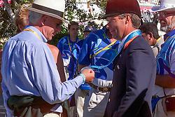 Schockemohle Paul (GER), Voorn Albert (NED)<br /> Olympic Games Sydney 2000<br /> © Dirk Caremans