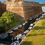 Moat of The old citadel [ ?????? ??????? ] Corfu City, Greek Ionian Islands