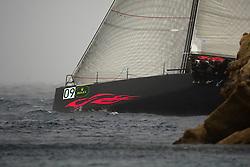07_013516 © Sander van der Borch. Porto Cervo - ITALY,  27 September 2007 . TP52 Worlds in Porto Cervo (23/29 September 2007). Race 6, coastal race.