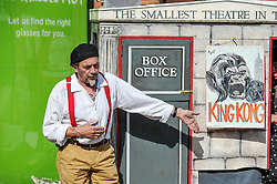 The Smallest Theatre in the World starts a performance in the Essex town of South Woodham Ferrers.