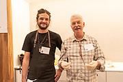 "BARLEY, Hordeum vulgar<br /> Showcase: 'Purple Valley', ""Buck', and BB99<br /> Breeders: Pat Hayes and Brigid Meints, Oregon State University<br /> Chef: Nego Piattoni, Metta<br /> Cereal Chemist: Andrew Ross, Oregon State University"