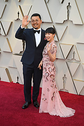 February 24, 2019 - Los Angeles, California, U.S - MARIE KONDO AND HUSBAND TAKUMI KAWAHARA during red carpet arrivals for the 91st Academy Awards, presented by the Academy of Motion Picture Arts and Sciences (AMPAS), at the Dolby Theatre in Hollywood. (Credit Image: © Kevin Sullivan via ZUMA Wire)