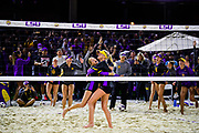Beach Volleyball vs UCLA<br /> Photo by Chris Parent