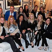 NLD/Amsterdam/20101116 - Boekpresentatie Erik Kusters,, Corine Hooijdonk -  Wielaard, Rosanna Kluivert - Lima, Henriette Bergkamp - Ruizendaal, Merije Blinker - van der Wind, Estelle Gullit - Cruijff, Yvonne Roose,