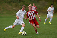 St Paul's School boys varsity soccer with Proctor Academy  © Karen Bobotas Photographer/for St Paul's School