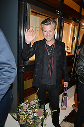 JASON STARKEY at a party to celebrate the opening of the jeweller Ara Vartanian's Flagship Store 44 Bruton Place, London on 7th September 2016.