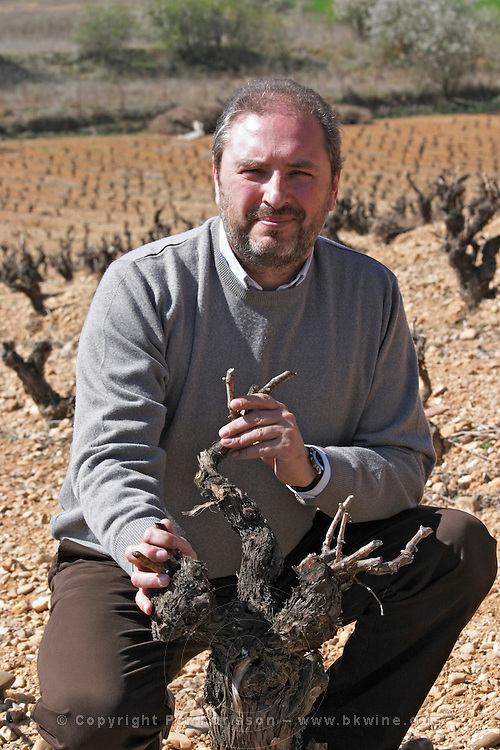 tempranillo, Fernando Caballero Arroyo, director bodegas frutos villar , cigales spain castile and leon