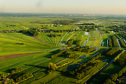 Nederland, Noord-Holland, gemeente Wijdemeren - Hilversum, 07-05-2018; De Ster, samenkomen van de veenriviertjes Drecht en Pampus.<br /> The Star (star shape land) where peat rivers meet, near Hilversum.<br /> luchtfoto (toeslag op standard tarieven);<br /> aerial photo (additional fee required);<br /> copyright foto/photo Siebe Swart