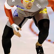 NLD/Heerenveen/20060122 - WK Sprint 2006, 2de 500 meter heren, Brock Miron