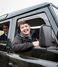 Ruth Davidson off road driving | Perth | 29 May 2017.