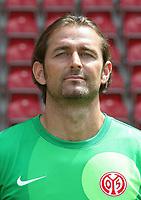Fotball<br /> Tyskland<br /> 04.07.2013<br /> Foto: Witters/Digitalsport<br /> NORWAY ONLY<br /> <br /> Torwart Heinz Müller<br /> <br /> Fussball, 1. FSV Mainz 05, Fototermin Saison 2013 / 2014