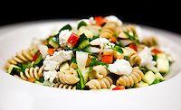 pasta Salad on a white plate