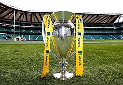 The 2017/18 Aviva Premiership Rugby Trophy at Twickenham for the launch of the 2017/18 season - Mandatory by-line: Robbie Stephenson/JMP - 24/08/2017 - RUGBY - Twickenham - London, England - Premiership Rugby Launch