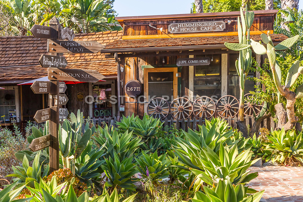 Hummingbird House Cafe in the Los Rios Historic District of San Juan Capistrano