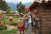 Quechua welcome, music, Misminay village, Sacred Valley, Cusco Region, Urubamba Province, Machupicchu District, Peru