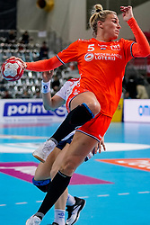 06-12-2019 JAP: Norway - Netherlands, Kumamoto<br /> Last match groep A at 24th IHF Women's Handball World Championship. / The Dutch handball players won in an exciting game of fear gegner Norway and wrote in the last group match at the World Handball  World Championship history (30-28). / Jessy Kramer #5 of Netherlands
