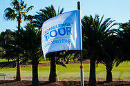 Pinflag on the 10th hole during previews of the Challenge Tour Grand Final 2020, T-Golf & Country Club, Palma, Balearic Islands. 18/11/2020<br /> Picture: Golffile | Phil Inglis<br /> <br /> <br /> All photo usage must carry mandatory copyright credit (© Golffile | Phil Inglis)