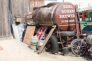 Small independent brewery, Earl Soham brewery, Suffolk