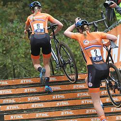 08-11-2020: Wielrennen: EK Veldrijden: Rosmalen: Aniek van Alphen: Manon Bakker
