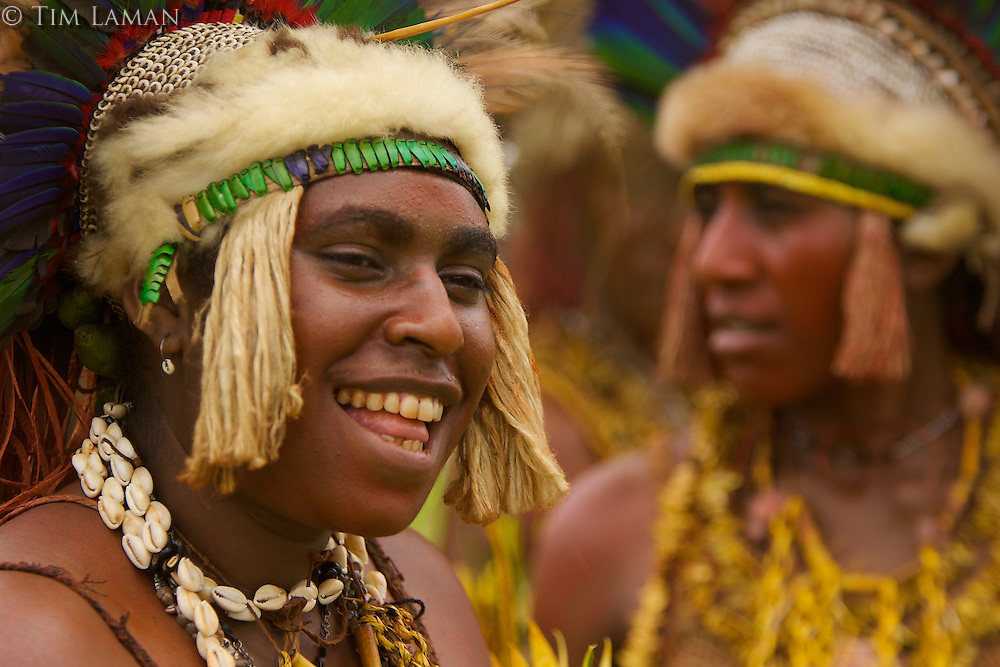 Women from Eastern Highlands Province, Bena District..Goroka, Eastern Highlands Province, Papua New Guinea.