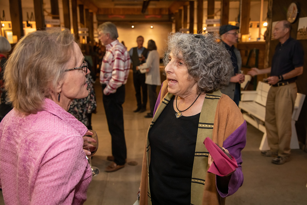 Artists and patrons enjoy Art for the Sangres, a key fundraiser art sale for the San Isabel Land Protection Trust.