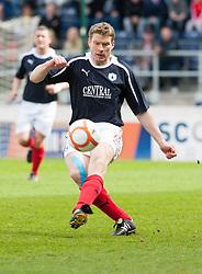 Falkirk's Darren Dods..Falkirk's Football Club's last game of season 2011-2012..Falkirk 3 v 2 Ayr United, 5/5/2012..©Michael Schofield..