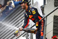 August 27, 2017 - Spa-Francorchamps, Belgium - Motorsports: FIA Formula One World Championship 2017, Grand Prix of Belgium, ..#3 Daniel Ricciardo (AUS, Red Bull Racing) (Credit Image: © Hoch Zwei via ZUMA Wire)