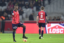 March 15, 2019 - Lille, France, FRANCE - Deception des joueurs du Losc apres le but de VINICIUS Carlos (Monaco) .Nicolas Pepe  (Credit Image: © Panoramic via ZUMA Press)