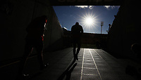 Rugby Union - 2017 British & Irish Lions Tour of New Zealand - Training pre 2nd Test <br /> <br /> Sonny Bill Williams of The All Blacks walks to the field at Westpac Stadium, Wellington.<br /> <br /> COLORSPORT/LYNNE CAMERON