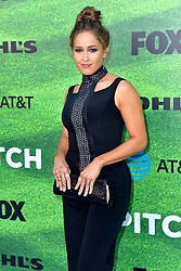 September 13, 2016 - Los Angeles, Kalifornien, USA - Jaina Lee Ortiz bei der Premiere der FOX TV-Serie 'Pitch' auf dem West LA Little League Field. Los Angeles, 13.09.2016 (Credit Image: © Future-Image via ZUMA Press)