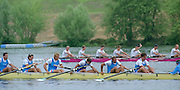 Vienna AUSTRIA. Men's Eights Heats. 2000 FISA World Cup. 2nd Round. Vienna Neue Donau Rowing Course  [Mandatory Credit. Peter Spurrier/Intersport Images]..Crews: .GER M8+. Robert SENS (b) , Stefan FORSTER (2) , Enrico SCHNABEL (3) , Detlef KIRCHHOFF (4) , Mark KLEINSCHMIDT (5) , Sebastian THORMANN (6) , Paul DIENSTBACH (7) , Ulf SIEMES (s) , Peter THIEDE (c)..ITA1. 8+. Mattia RIGHETTI (b) , Luca GHEZZI (2) , Valerio PINTON (3) , Mario PALMISANO (4) , Mattia TROMBETTA (5) , Dario LARI (6) , Rosario GIOIA (7) , Gioacchino CASCONE (s) , Gaetano IANNUZZI (c)