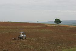 Preparação de uma lavoura para a plantação. FOTO: Jefferson Bernardes/Preview.com