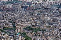Arc de Triomphe & Paris Cityscape