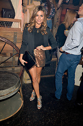 ZOE HARDMAN at a party to celebrate the opening of Beaver Lodge, a new bar & club from the Inception Group at 266 Fulham Road, London SW10 on 4th December 2014.
