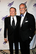 """Jerry Herman and Doug Leeds at The American Theater Wing's Annual Spring Gala Honoring Jerry Herman and Visa INC...The American Theatre Wing is best known as the creator of the Antoinette Perry """"Tony"""" Awards, which it presents annually with the Brodway League. The Wing's other activities, dedicated to recognizing excellence and supporting eductaion in theatre."""