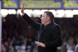 Peterborough United Manager, Darren Ferguson - Photo mandatory by-line: Joe Dent/JMP - Mobile: 07966 386802 22/03/2014 - SPORT - FOOTBALL - Peterborough - London Road Stadium - Peterborough United v Rotherham United - Sky Bet League One