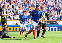 Football - Division Three -  Berwick Rangers vs Rangers<br /> <br /> Andrew Little of Rangers celebrates his goal<br /> <br /> Division Three match  August 26th 2012<br /> <br /> Norway only