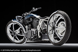 My Little Indian built from a Indian Chieftain by Cory Ness of Arlen Ness Motorcycles in Dublin, CA. Photographed by Michael Lichter in Columbus, OH on 2/10/18. ©2018 Michael Lichter.