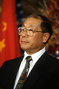 Chinese Minister of Finance Liu Zhongli November 19, 1996 in Washington, DC.