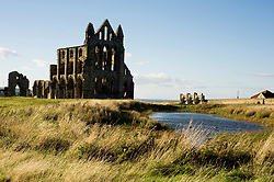 Whitby Abbey Gothic ruined monastery<br /> 18 September 2010 <br /> Images © Paul David Drabble