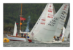The final day of the Bell Lawrie Scottish Series, breezy and bright conditions from the North allowed the sailors to compete on a level par...Sigma 33's and Impalas starting together..