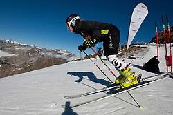 04.11.2011, Moelltaler Gletscher, Flattach, AUT, DSV Medientag, im Bild Veronique Hronek // During media day of German Ski Federation DSV at Moelltaler glacier in Flattach, Carinthia, Austria on 4/10/2011. EXPA Pictures © 2011, PhotoCredit: EXPA/ J. Groder