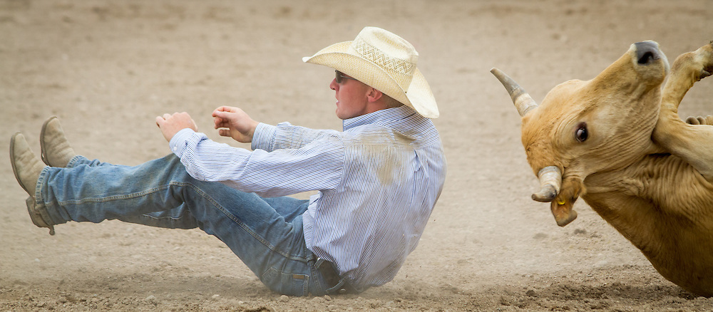 The 2014 Westcliffe Stampede Rodeo wraps up its final show at the Custer County Fair Grounds.